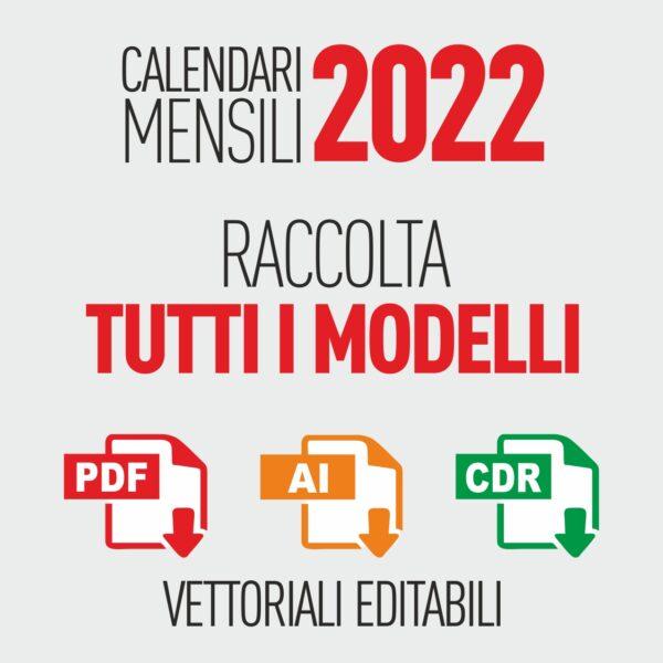calendari 2022 mensili